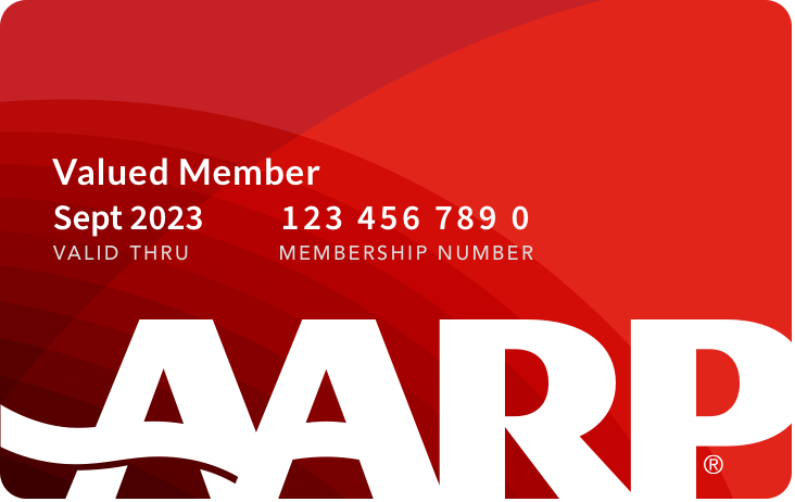 Picture of AARP Membership Card